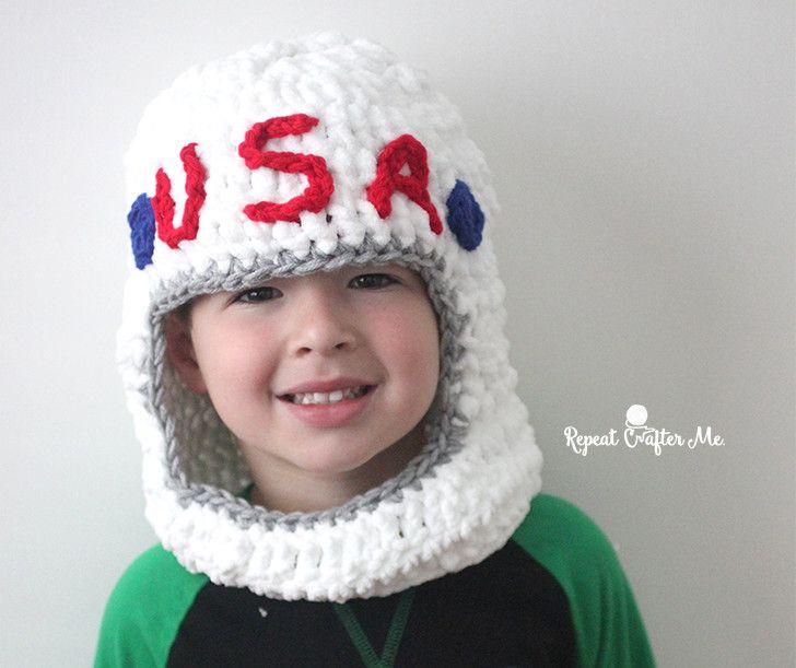 astronaut hat knit - photo #13