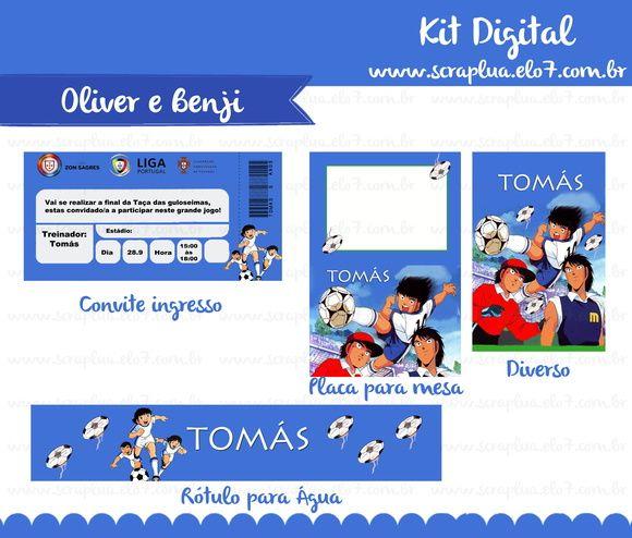 Kit Digital Oliver e Benji