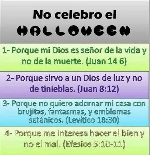 No celebro el halloween