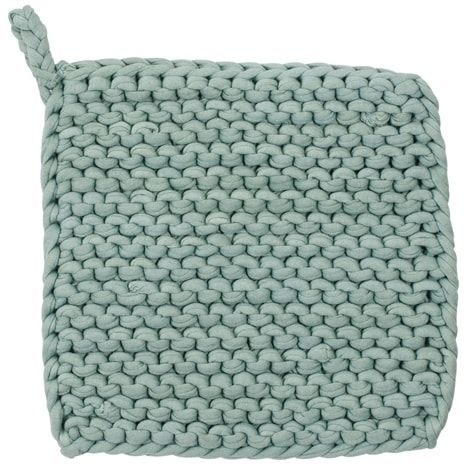 VIRKA pot-holder, turquoise | Home Accessories Online | Lagerhaus.com