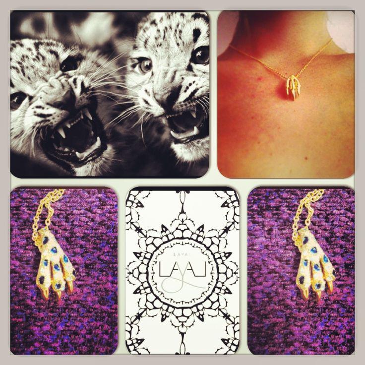 Layal glyfada cat claw necklaces