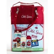 Old Spice Fiji 4 Piece Gift Set w/Travel Bag and BONUS Sports Illustrated Subscription by Old Spice. $24.95. 1.7 oz. Old Spice Body Wash. Red Nylong Travel Bag. 16 oz. Old Spice Body Wash. 2.6 oz Old Spice Antiperspirant and Deodorant. 4 oz. Old Spice Body Spray. A nice escape without having to pass through customs.. Save 50%!