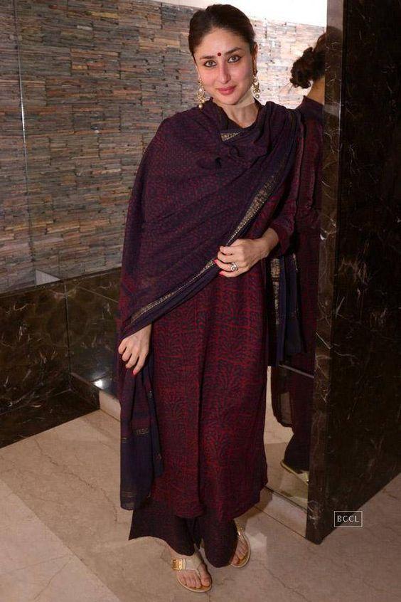 Kareena Kapoor at Soha Ali Khan's mehendi ceremony: