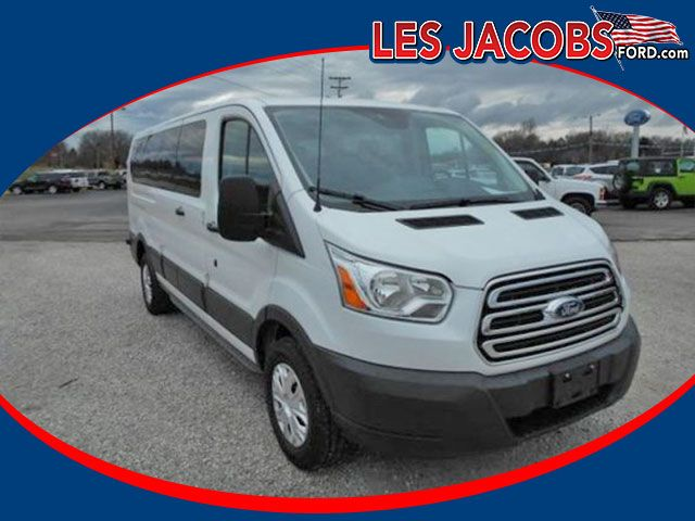 5693 – 2016 #Ford #Transit Wagon XLT RWD – Oxford White with Charcoal, V-6 3.7L, Auto, Rear Heat and A/C, Reverse Sensing with Backup Camera, 4-Wheel Disc Brakes with ABS, Keyless, Tilt, Cruise, P/W, P/M, P/L, Still under Factory Bumper to Bumper Warranty! #Used #Cars #Cassville, #MO