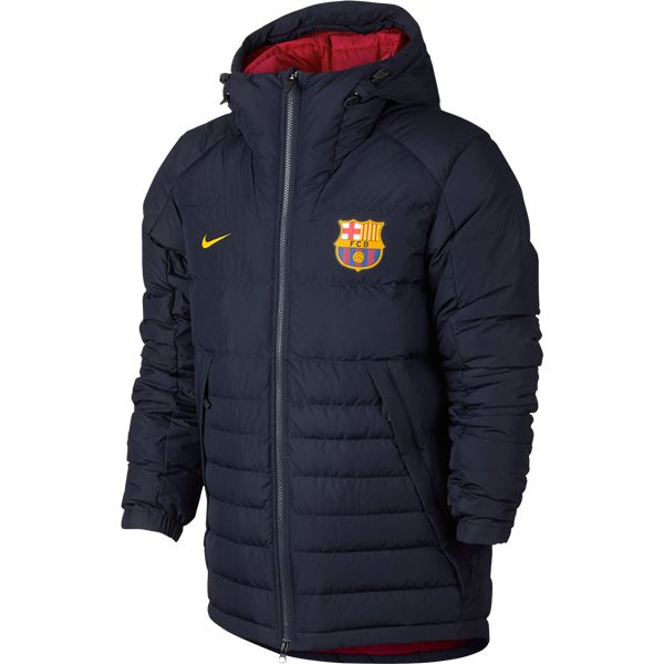 FC Barcelona Hooded Down Jacket   | $179.99 | Holiday Gift & Stocking Stuffer ideas for the FC Barcelona fan at WorldSoccerShop.com