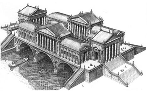Rialto Bridge Venezia, Italy. 1556-1570 Architect: Andrea Palladio