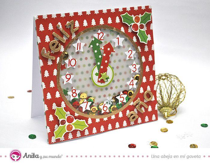 536 best anitacreaciones images on pinterest albums - Como hacer targetas de navidad ...