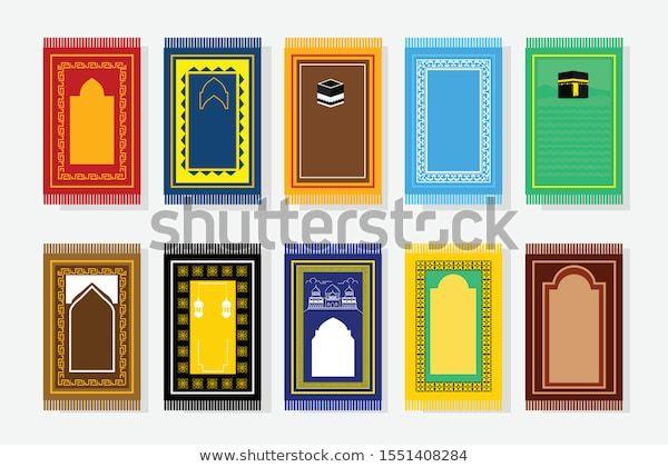 Muslim Prayer Rug Arabian Ornament Decorative Stock Vector Royalty Free 1551408284 Muslim Prayer Rug Prayer Rug Muslim Prayer