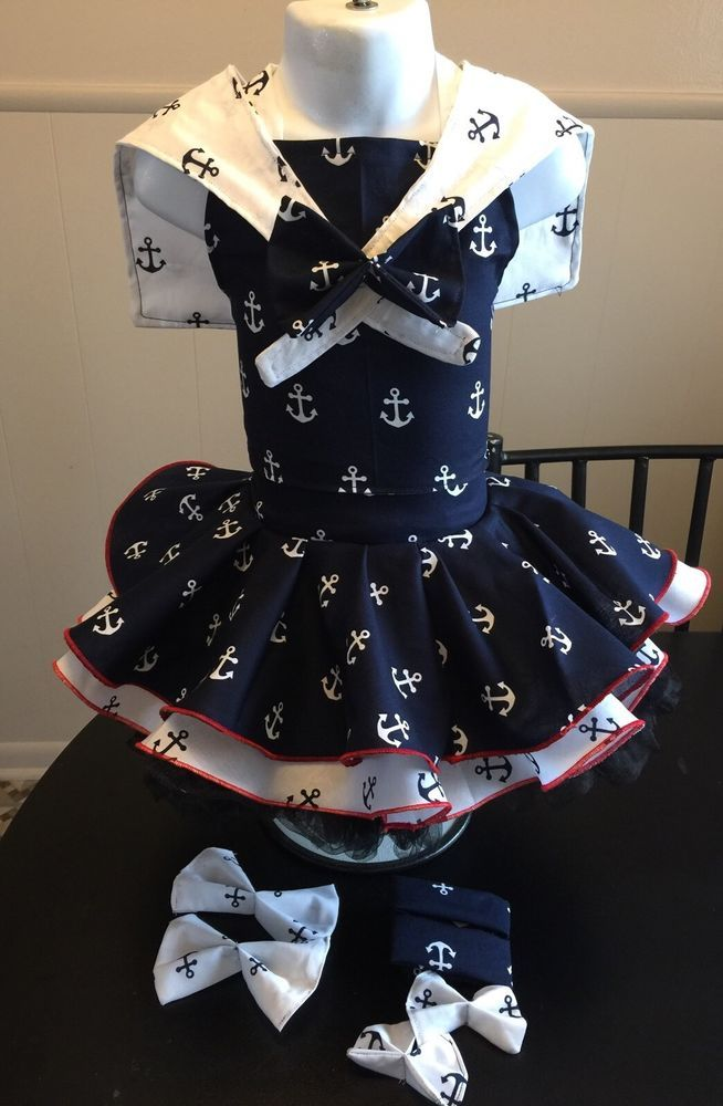 National Pageant Sailor Nautical Wear OOC Casual Wear  Size 18mos-3t  | eBay