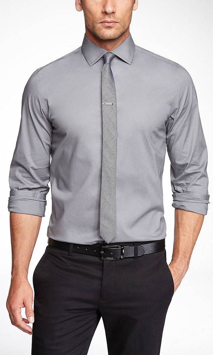 Extra Slim 1mx French Cuff Shirt Express Teacher