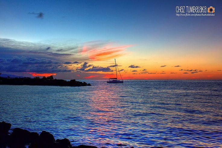 Sunset at Boulevard Manado