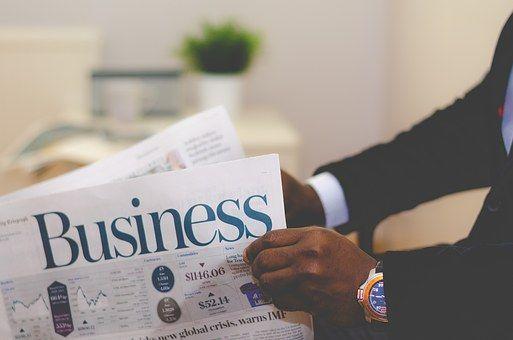 Business, Newspaper, Paper