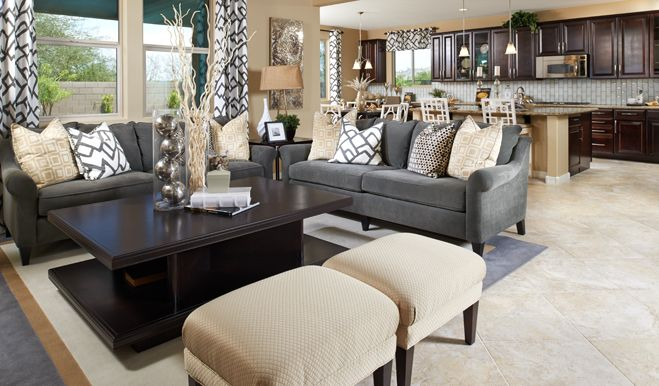 125 Best Living Rooms We Love Images On Pinterest Model Homes Richmond American And Great Rooms