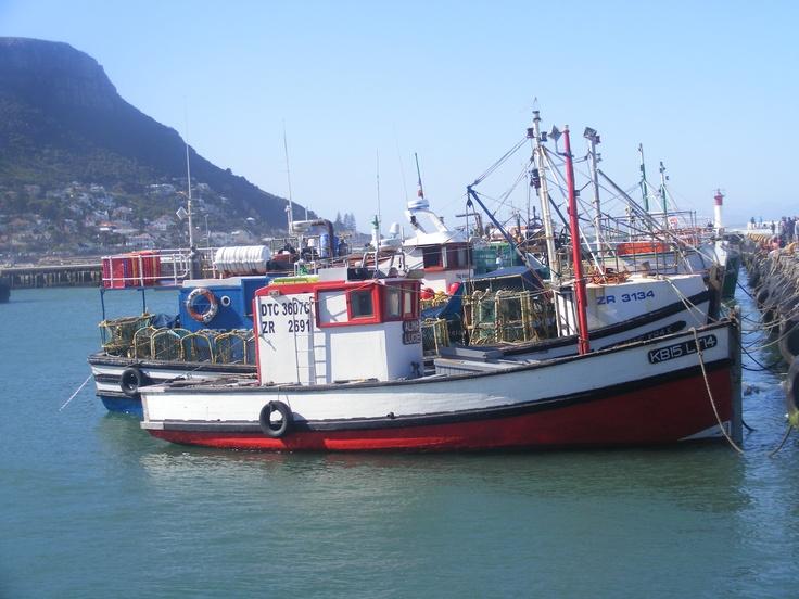 Kalkbay harbour