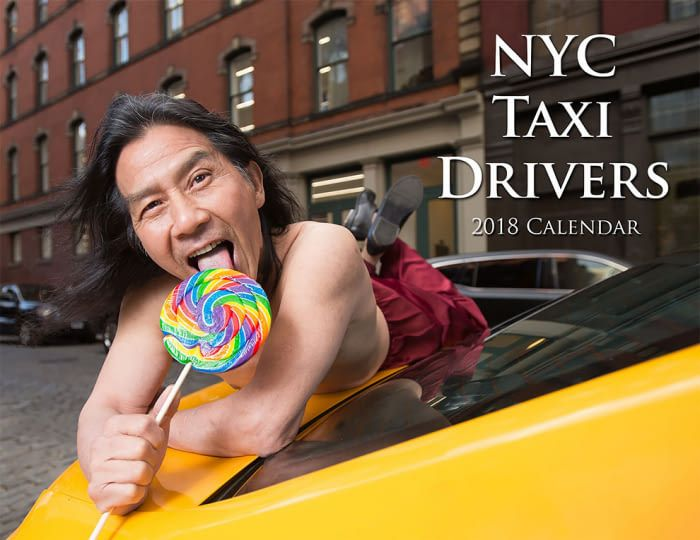 The Super Hot 2018 New York City Taxi Drivers Calendar Is Back Again