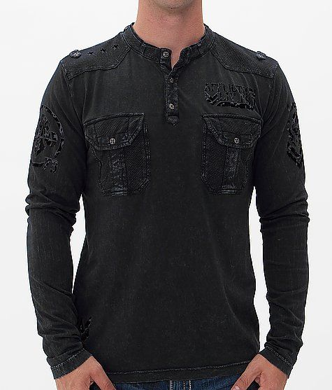 Affliction Agitator Henley at Buckle.com