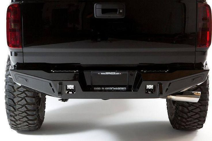 ADD R357201280103 GMC Canyon 2015-2016 Honeybadger Rear Bumper W/Integrated Tool Box