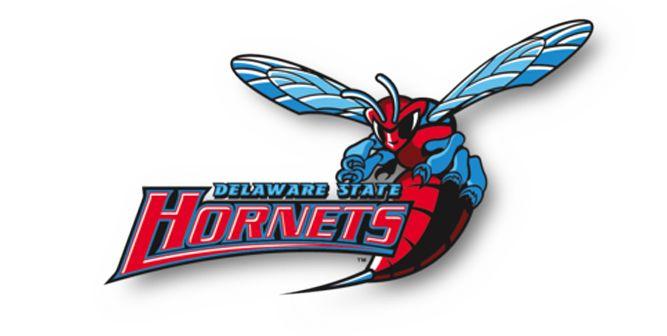 Primary Logo Mark for the Delaware State Hornets