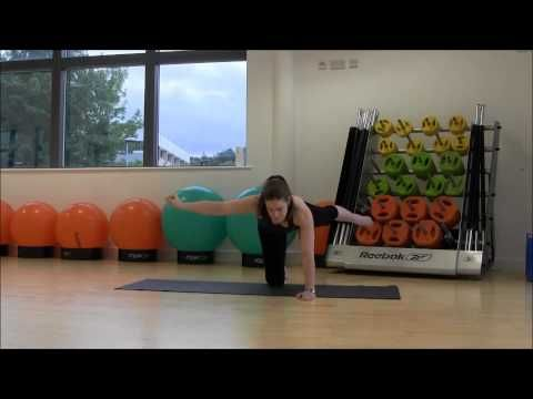 Pilates (Intermediate) - Week 2 - Loughborough Sport - YouTube