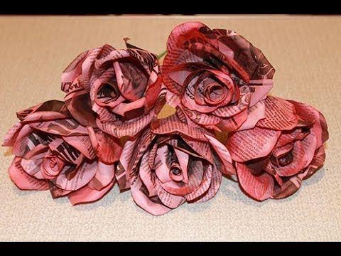 Как сделать розу из бумаги | Страна Мастеров