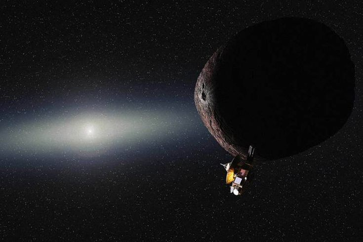 The spacecraft will visit 2014 MU69, another piece of the frigid debris beyond Neptune along the Kuiper belt.