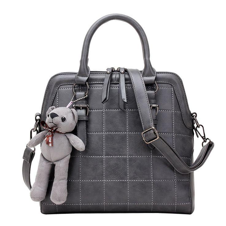 2017 Woman Handbags Designers Brand Pu Leather Luxury Casual Tote Bags For Women Shoulder Messenger Bag Ladies Handbag Bolsas