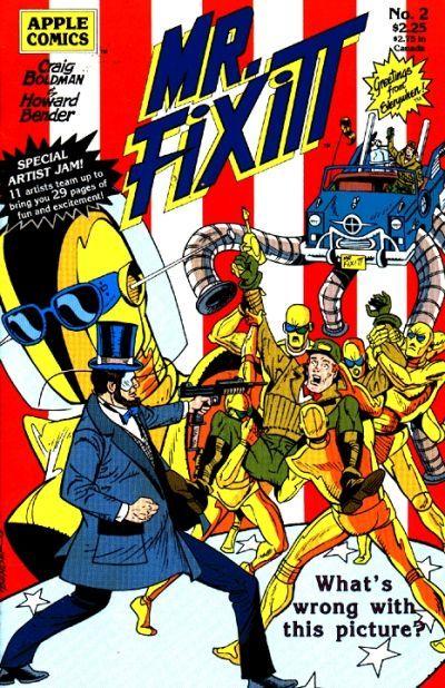Mr. Fixitt (Apple Press) #2 (March 1990) by Craig Boldman and Howard Bender