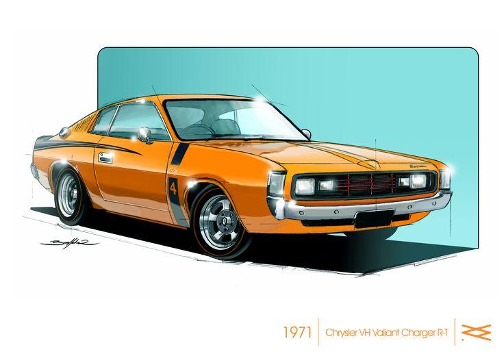 CHRYSLER VH VALIANT CHARGER R-T 1971