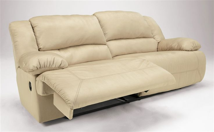 Chesterfield Sofa reclining sofa cream Signature Design by Ashley Seat Reclining Sofa in Khaki