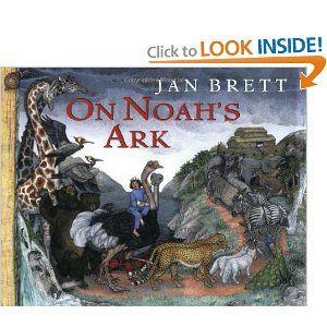 Retelling of the Noah story by popular children's author, Jan Brett.