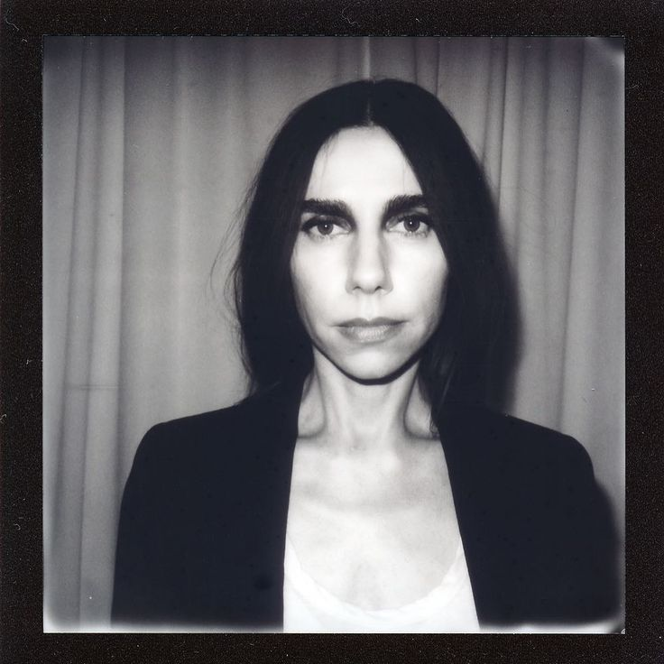 PJ Harvey Polaroid by Jason Williamson
