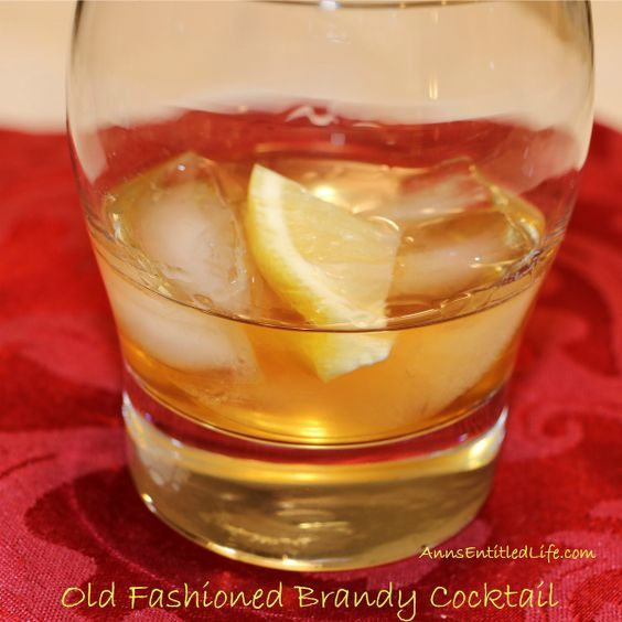 Signature drink: This Old Fashioned Brandy Cocktail recipe is a classic for a reason; sweet, smooth with a slight complimentary tart, melding from the bitters and lemon. This is one delicious cocktail!   http://www.annsentitledlife.com/wine-and-liquor/old-fashioned-brandy-cocktail/: