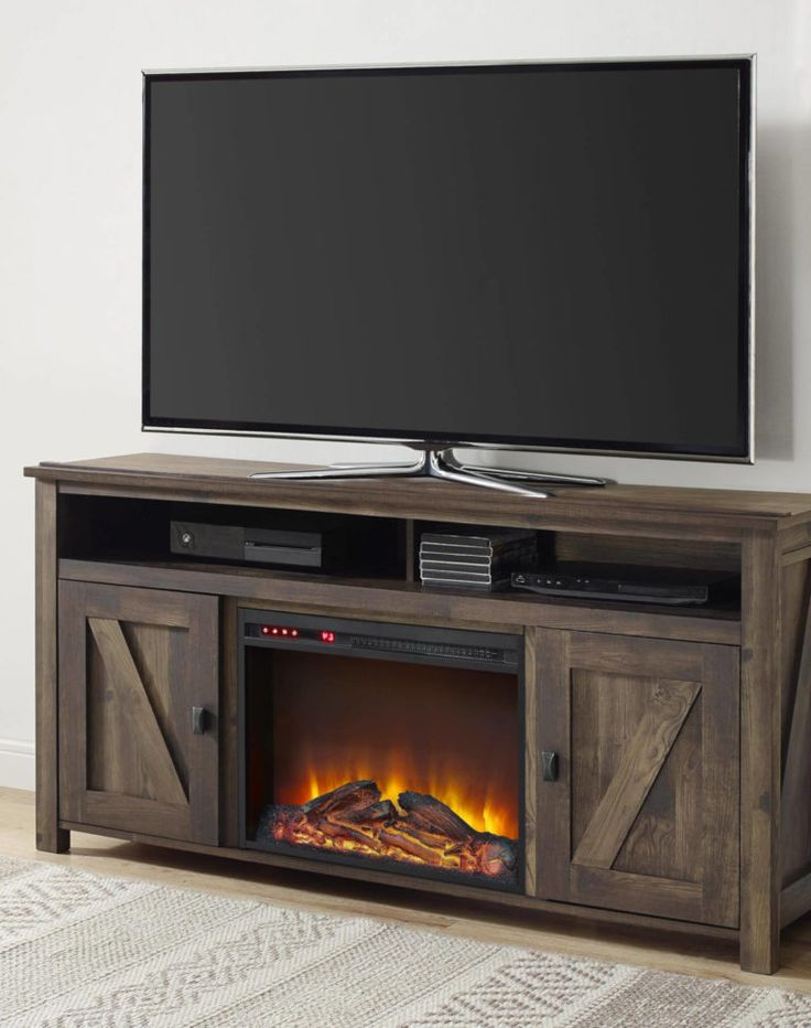 Stacked Stone Electric Fireplace Best Wall Mounted
