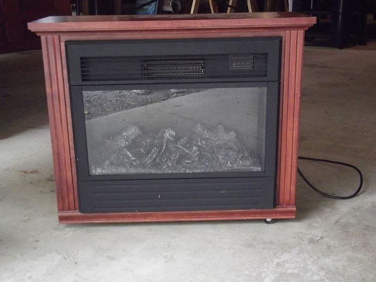 How To Upgrade Your Electric Fireplace Heater On The Cheap Electric Fireplaces Fireplace