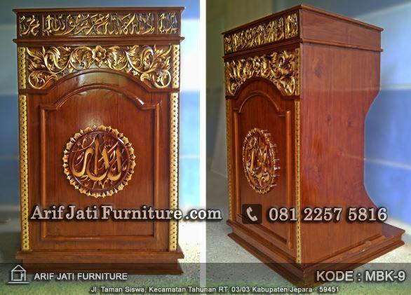 podium masjid motif baru