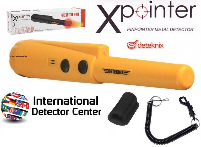 Deteknix Xpointer pinpointer Orange + Zubehör + GRATIS Fundtasche ! - Pinpointer - Metalldetektor kaufen - Metalldetektoren beim International Detector Center