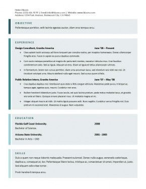 One Column Format With Plus Sign Bullets For Job Descriptions. Technical,  Engineering, Programming, And Mechanical Example. Find This Pin And More On  Resume ...