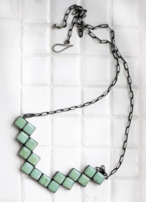 Tetris Necklace