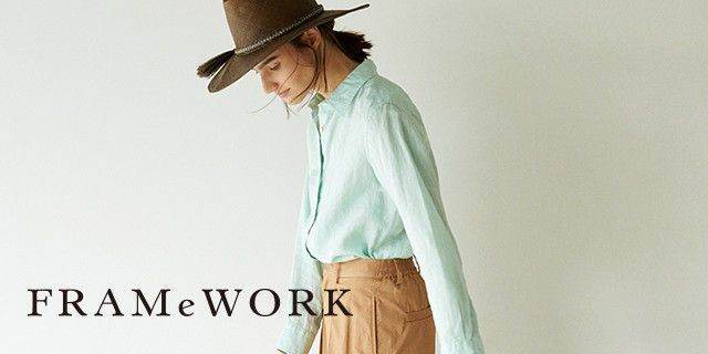 ベイクルーズのファッション通販サイト。FRAMeWORK(フレームワーク)、ジャーナル スタンダード、スピックアンドスパン、エディフィス、イエナの新作商品をどこよりも早くご紹介。