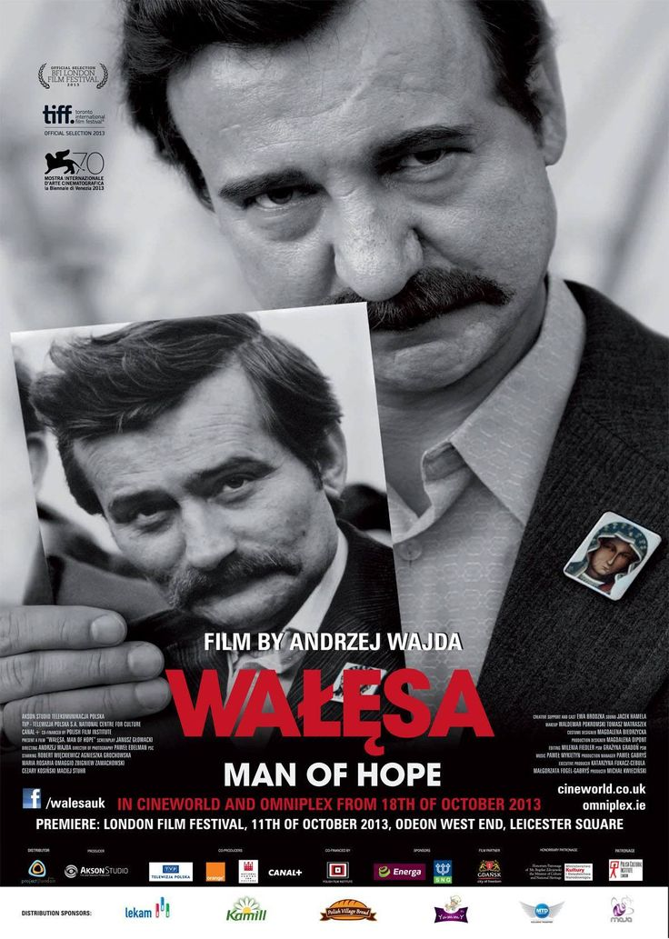 Walesa. Man Of Hope (Andrzej Wajda, 2013) #film #poster #cinema #Walesa