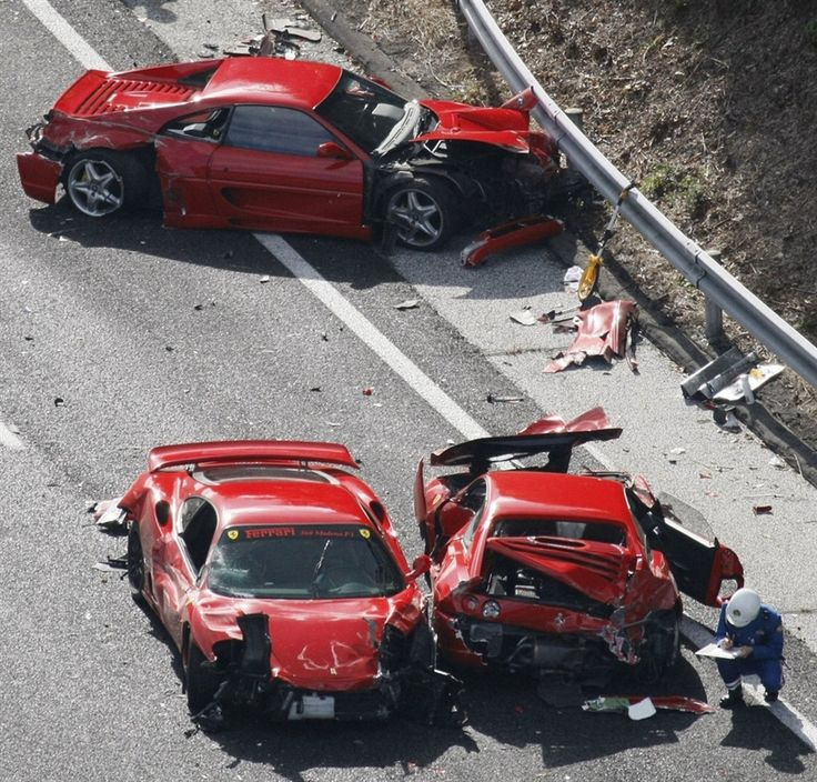 Wrecked Lamborghini For Sale: Gone In Less Than 60 Seconds: 11 Luxury Sports Cars