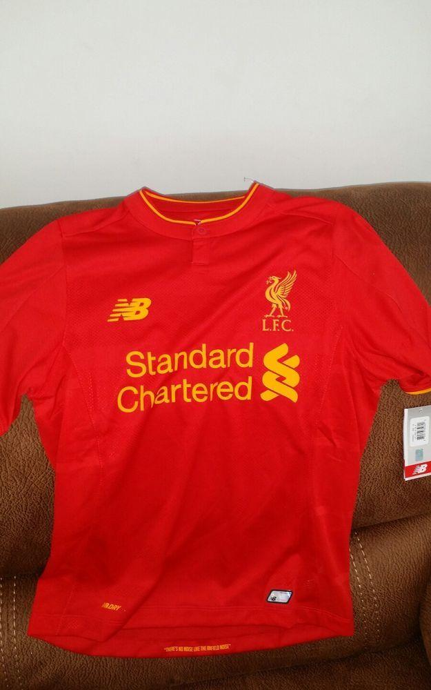 new balance Liverpool Fc premier league soccer jersey NWT size XL youth | Sports Mem, Cards & Fan Shop, Fan Apparel & Souvenirs, Soccer-International Clubs | eBay!