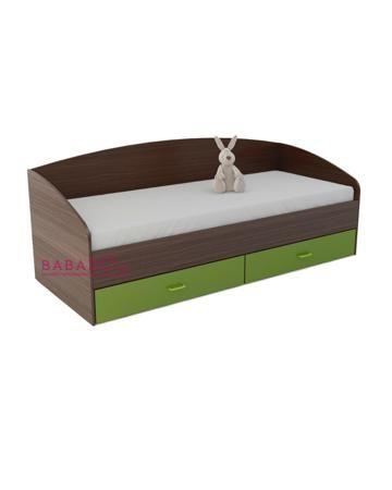 UFOkids 70x160 см с двумя ящиками Дарви дарк  — 12050р. -------- Кровать-диван 70x160 см с двумя ящиками Дарви дарк UFOkids для детей старше 3 лет. Есть два ящика для белья.