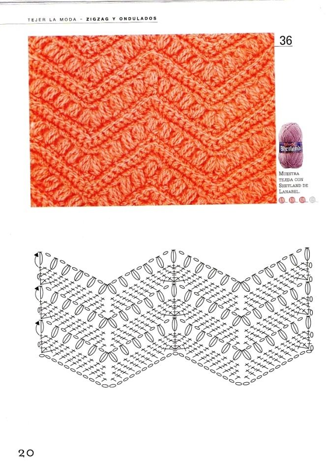 136 best crochet chevron pattern images on pinterest crochet knitting and crochet crochet patterns zigzags and waves ccuart Image collections