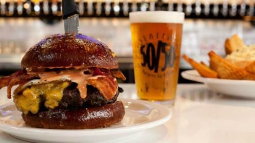 Bet You Can't Eat Just One: the Biggest Burgers in America
