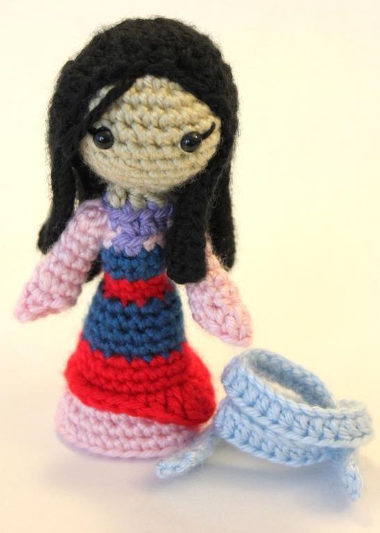 Disney Amigurumi Crochet Patterns : Mulan Amigurumi Crochet Doll Crafts Pinterest