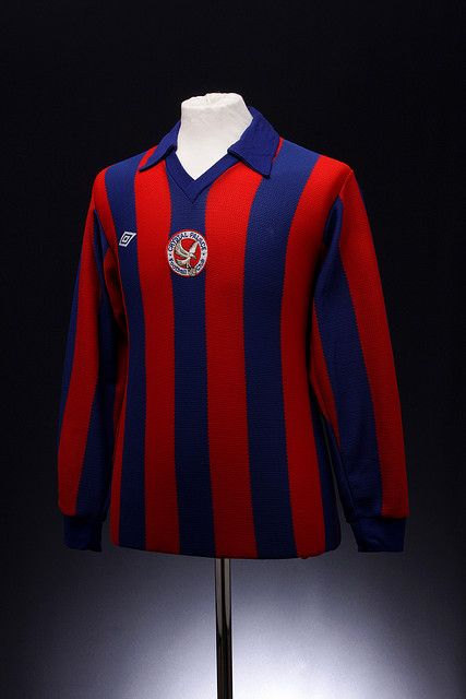 Crystal Palace Football Shirt (1975-1976, home) #cpfc