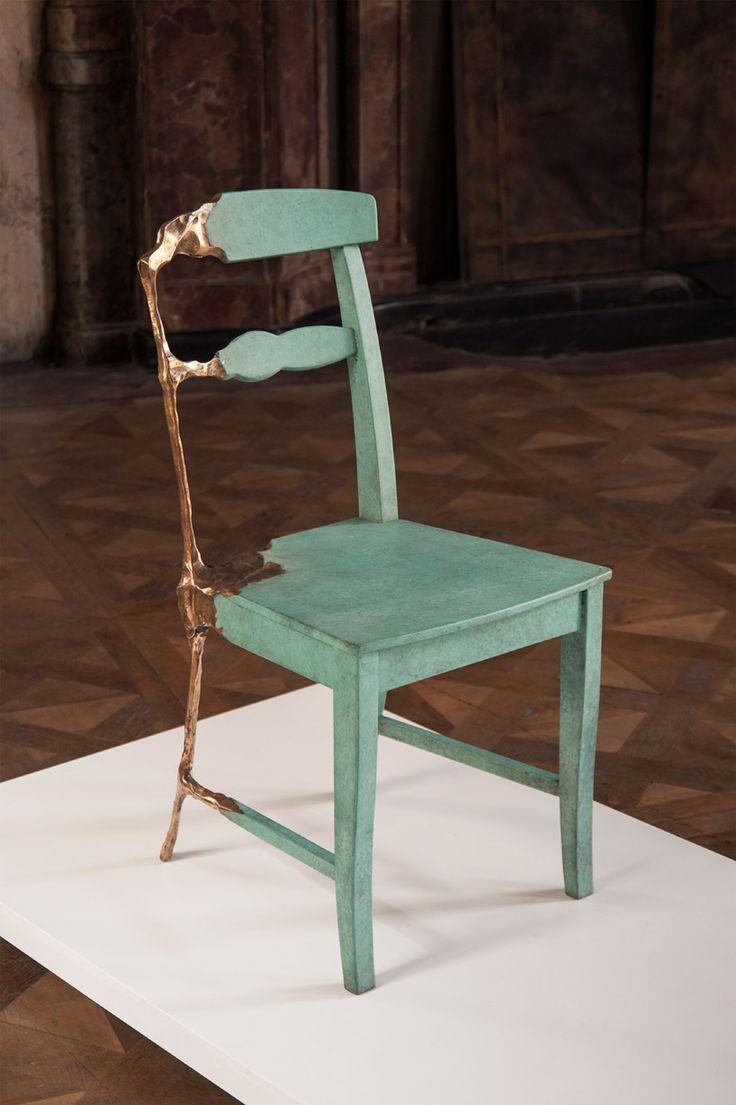 Skeletal furniture by Dutch design studio Tjep Bronze Age at Prague  Designblok. 163 best Fabulous Furniture Design images on Pinterest   Chairs