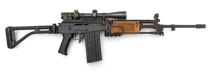 "IMI GALIL ARM ""SNIPER VARIANT"":  * Special weapon during time as SAD-SOG operative * Now stored away at his country safehouse"
