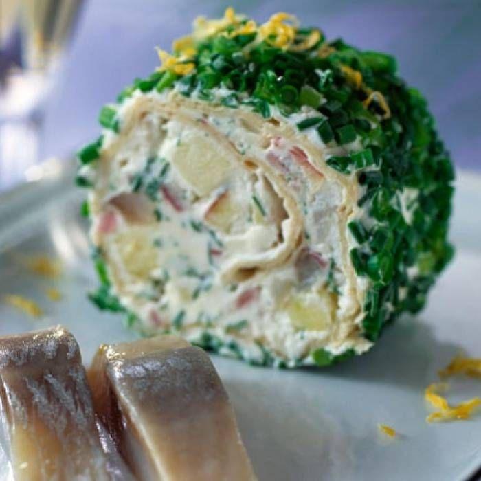 Tunnbrödsrulle med Brännvinssill - Mitt Kök